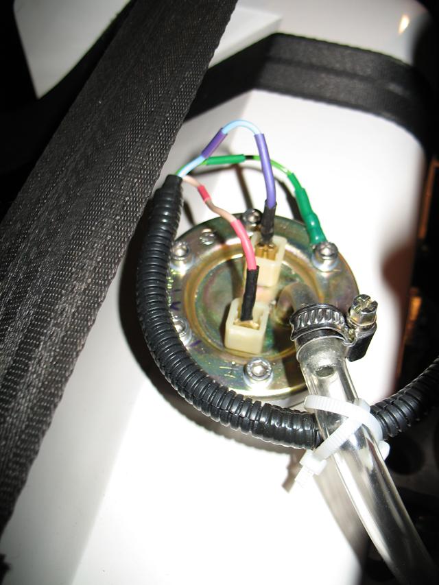 установлена рама датчика